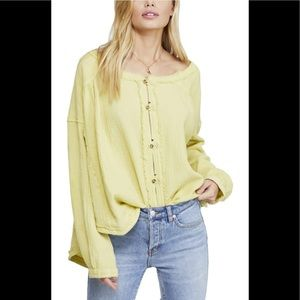 Free People Moving Mountains Top New Pear